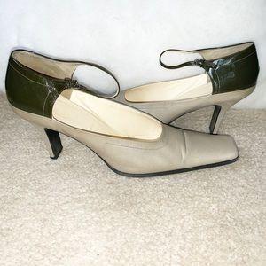 Prada Leather & Patent Heels Size 40 or 10